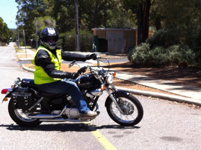 DriveRider Motorcycle learner lessons 2