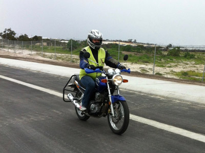 DriveRider Motorcycle learner lessons 3