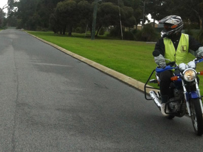DriveRider Motorcycle learner lessons 4