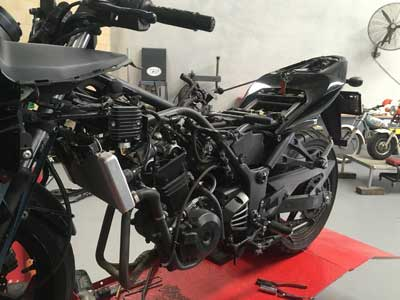 DriveRider Motorcycle servicing